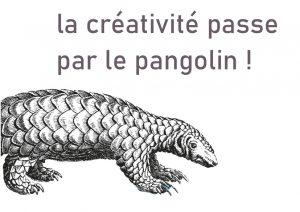 La créativité passe par le Pangolin !